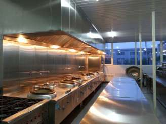 热菜加工-烹饪区