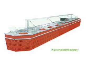 大型多功能组合保温售餐台